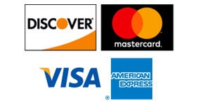 All Major Credit Cards are Accepted